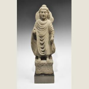 Click here to go to the Ancient Gandharan Stone Standing Buddha  page
