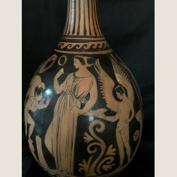 Ancient Greek Red Figure Amphora