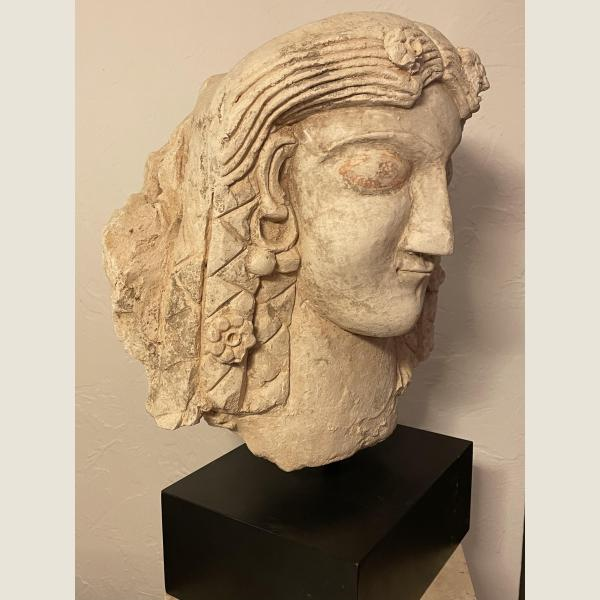 Ancient Parthian or Early Sassanian Head