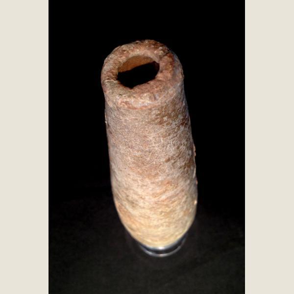 Ancient Islamic Tubular Creamware Phial