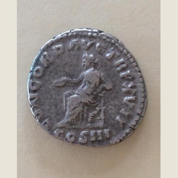 Ancient Roman Silver Denarius