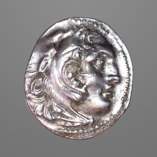 Ancient Greek Macedonia, Alexander III - Zeus Drachm Coin