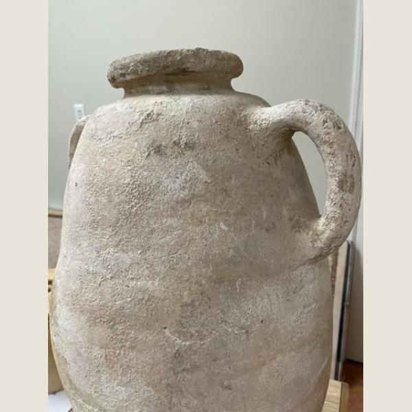 Ancient Bronze Age Twin Handled Amphora