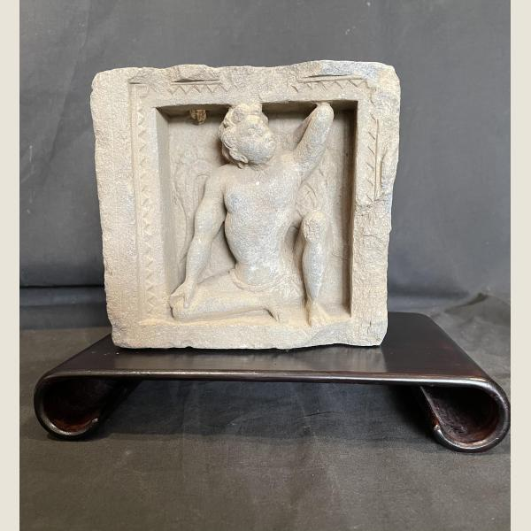 Ancient Gandharan Sculpture of Atlas