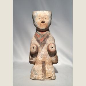 Image For: Ancient Chinese Han Dynasty Kneeling Figure