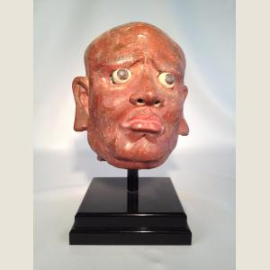 Image For: Ancient Chinese Head of Luohan