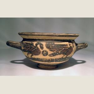 Image For: Ancient Greek Corinthian Skyphos