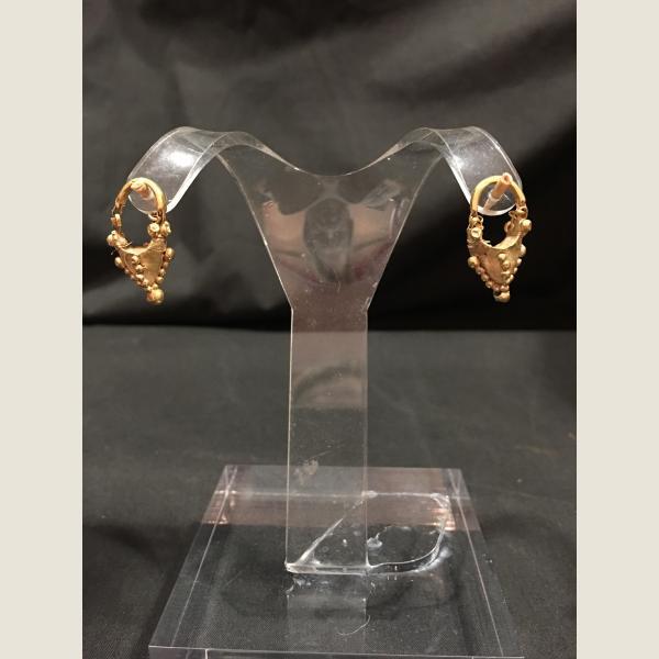 Ancient Persian Gold Earrings