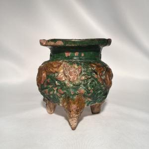 Image For: Ancient Chinese Han Dynasty Glazed Vessel
