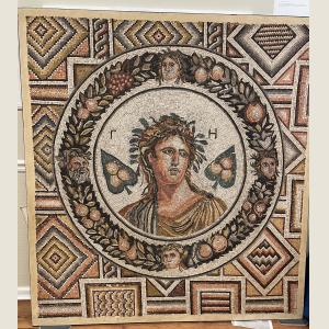Click here to go to the Ancient Roman Mosaic of Gaia  page