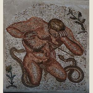 Click here to go to the Ancient Roman Gigantes King Mosaic page