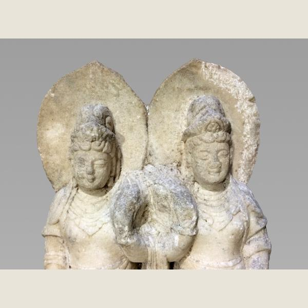 Ancient Chinese Guanyin Pair