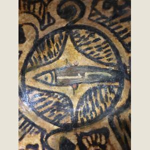 Image For: Islamic Bowl with fish motif