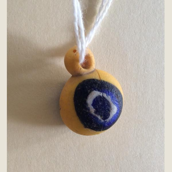 Ancient Egyptian Eye Bead Pendants