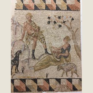 Click here to go to the Ancient Roman Mosaic of Seduction  page
