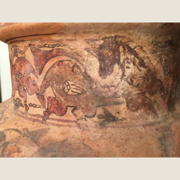 Ancient Indus Valley Large Storage Vessel