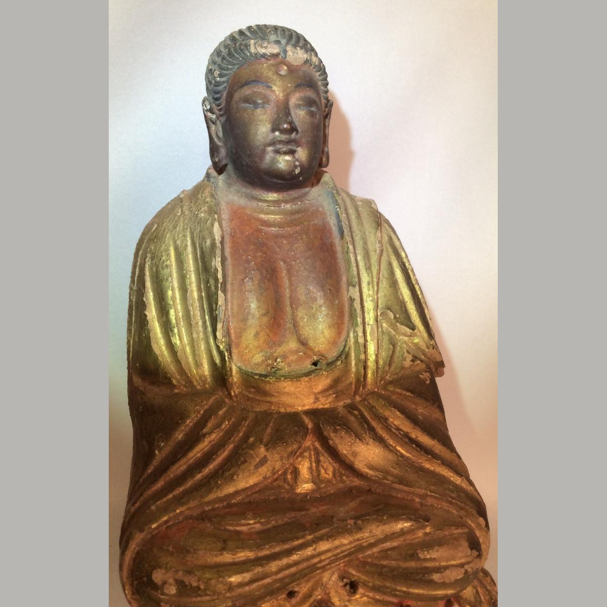 Ancient Chinese Seated Buddha