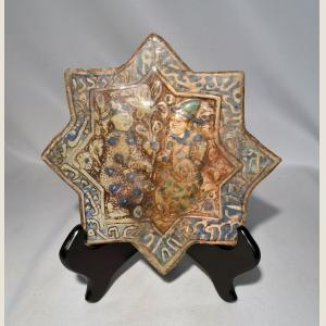 Click here to go to the Ancient Islamic Glazed Star Tile page