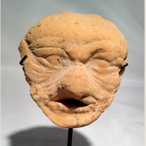 Click here to go to the Ancient Mesopotamian Qumbaba Male Face page