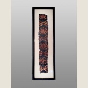 Image For: Ancient Egyptian Framed Coptic Textile