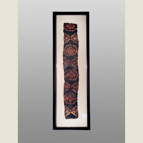 Ancient Egyptian Framed Coptic Textile