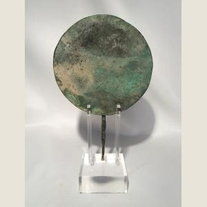 Image For: Ancient Roman Bronze Mirror