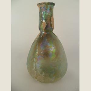 Image For: Ancient Roman Glass Unguentarium