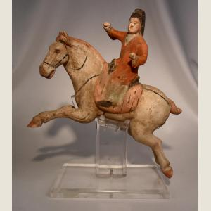 Image For:  Ancient Chinese Tang Dynasty Terracotta Polo Player