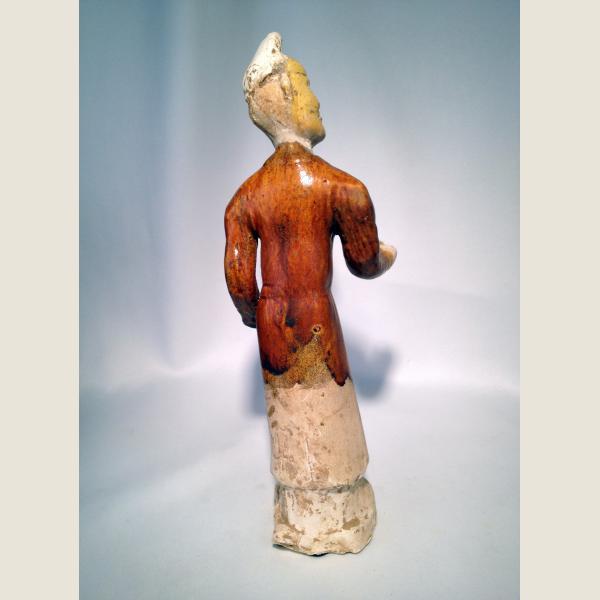 Ancient ChineseTang Dynasty Rare Glazed Figure