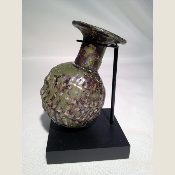 Ancient Roman Glass Sprinkler Flask