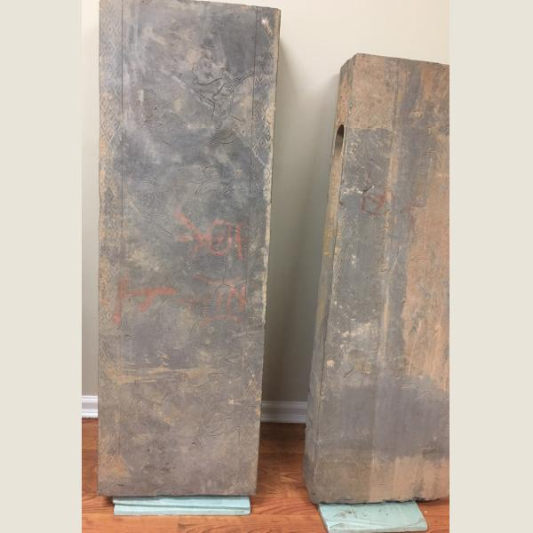 Ancient Chinese Han Dynasty Architectural Brick