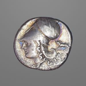 Image For: Ancient Greek Macedonia, Corinth - Pegasus Stater Coin