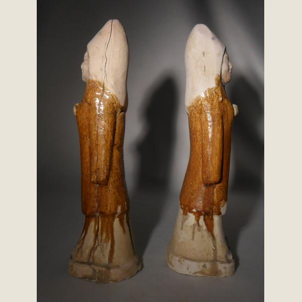 Ancient Chinese Pair of Guardians