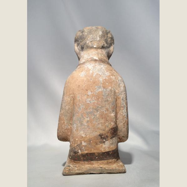 Ancient Chinese Han Dynasty Kneeling Figure