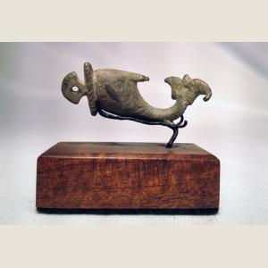 Image For: Ancient Roman Bronze Dolphin Pendant
