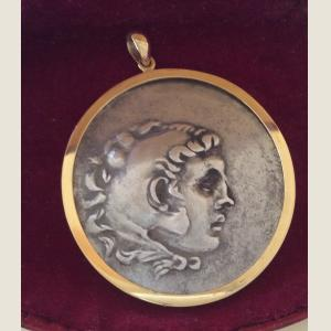 Click here to go to the Ancient Greek Alexander the Great Tetradrachma Pendant page