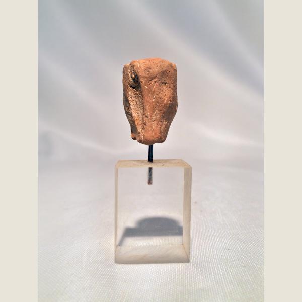 Ancient Greek Terracotta Head