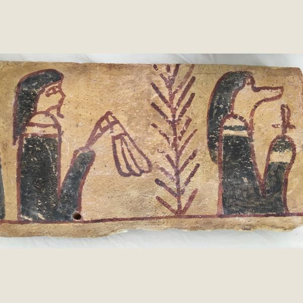 Ancient Egyptian Sarcophagus Piece