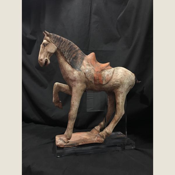 Ancient Chinese Tang Dynasty Horse Pair