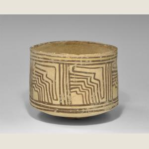Image For: Ancient Indus Valley Cylindrical Jar