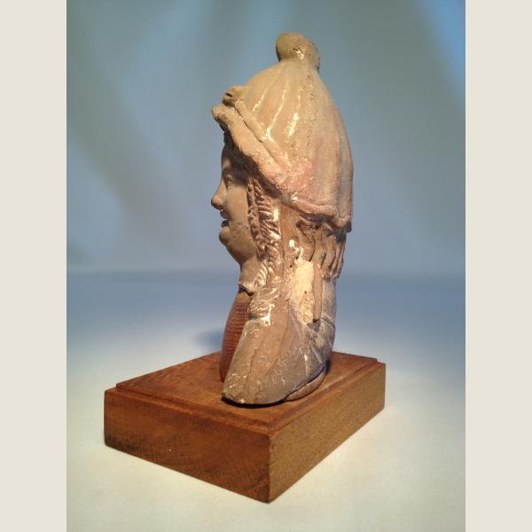 Ancient Romano-Egyptian Head of Woman