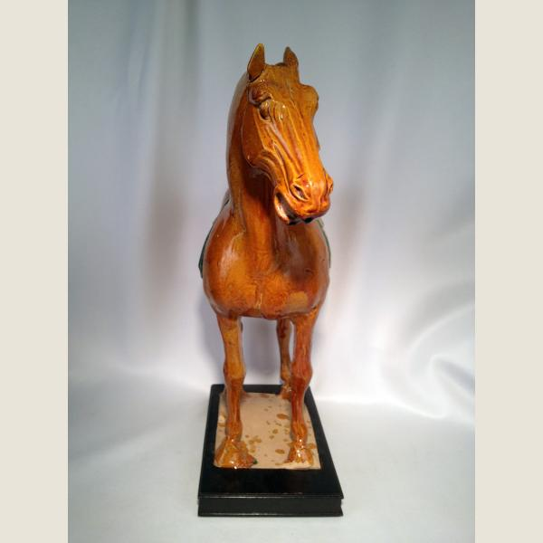 Ancient Chinese Tang Dynasty Glazed Horse