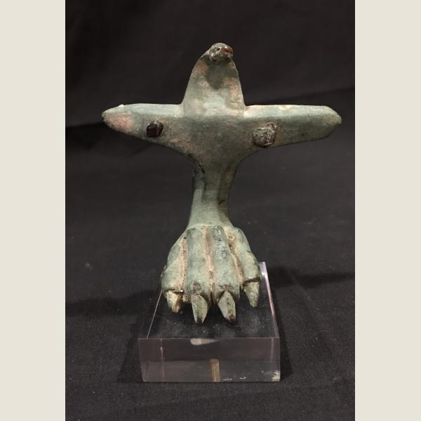 Ancient Roman Bronze Clawed Foot
