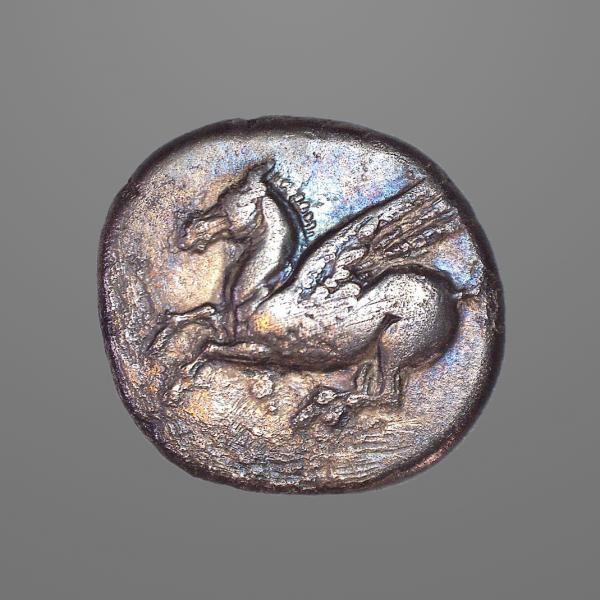 Ancient Greek Macedonia, Corinth - Pegasus Stater Coin