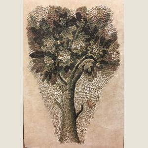 Image For: Ancient RomanTree Mosaic