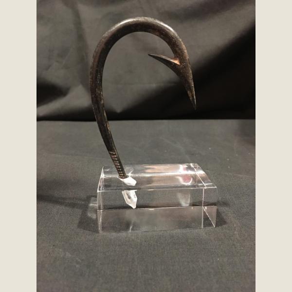 Ancient Roman Bronze Fish Hook