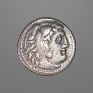 Image For: Ancient Greek Macedonian Coin