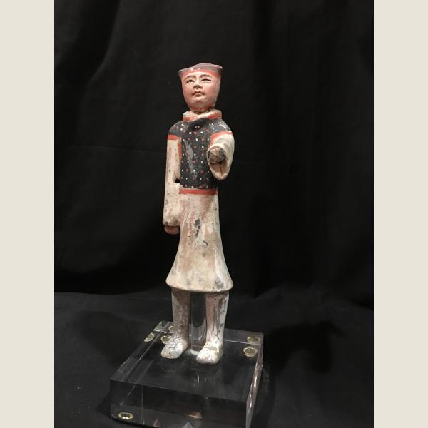 Ancient Chinese Han Dynasty Groom