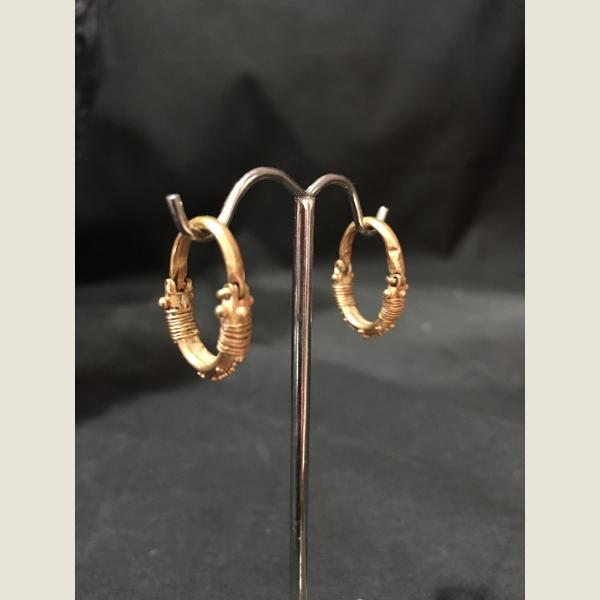 Ancient Parthian Gold Earrings