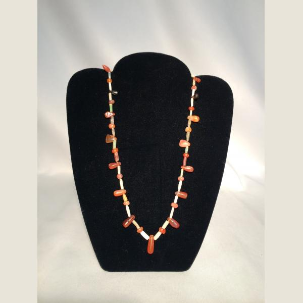 Ancient Persian Faience Necklace